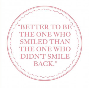 Grace Kelly smile quote