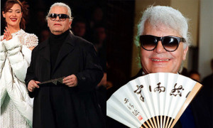 Karl Lagerfeld, lawsuit, fat girls, overweight, fashion quote, fashion ...