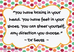 Famous Dr Seuss Quotes