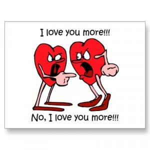 Funny love Postcard image photo picture