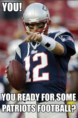SUNDAY. PATRIOTS. FOOTBALL. LET'S DO THIS.