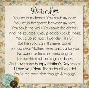 Happy Mothers Day Poem Religious