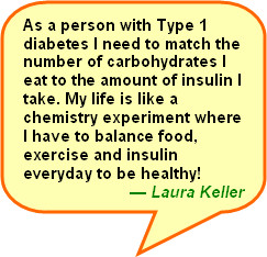 ... nutrition labeling is important for her health and tell us your story
