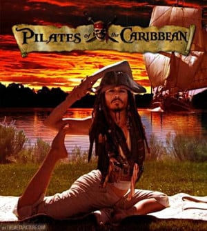 Pilates Of The Caribbean…