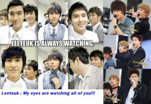 Kyuhyun: They are the existence that has to be there with us.