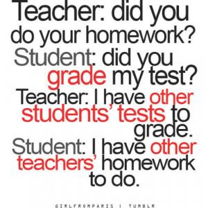 funny true school teacher student dialogue quotes