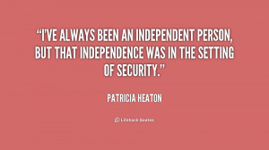 quote-Patricia-Heaton-ive-always-been-an-independent-person-but-230062 ...