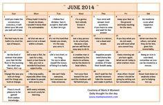 ... Quotes Calendar, Calendar Quotes 2014,calendar with quotes, quotes