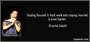 More Crystal Gayle Quotes