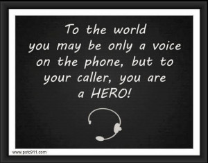 dispatchers are #heroes to all of us!