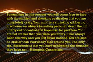 Chaos theory - meditation and mindfulness / awareness