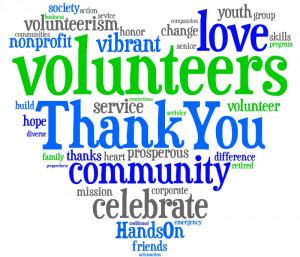 Happy National Volunteer Week!