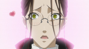 Grell's form as Angelina Dalles ' butler.