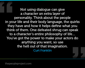 ... Can Give A Character An Extra Layer Of Personality - Character Quote