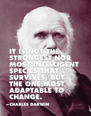 ... species that survives...