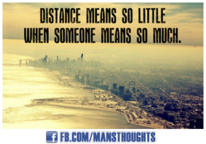 Long Distance Relationship Quotes - mansthoughts.com
