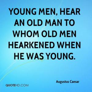 Augustus Caesar Quotes