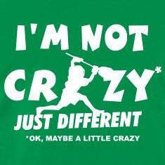 Not Crazy Lacrosse Goalie T Shirts