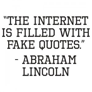 kwg2200 › Portfolio › Abraham Lincoln Internet Quote