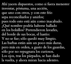 Rilke - Morgue
