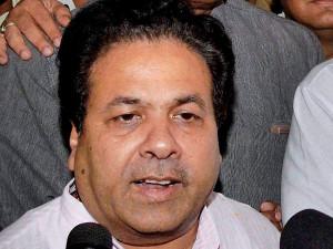 Rajiv Shukla congratulates Modi ridicules NDA government