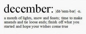 ... some inspirational quotes that will make your December a great one