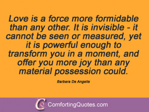 19 Quotations From Barbara De Angelis