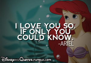 The Little Mermaid Quotes Ariel Little Mermaid Quotes Tumblr