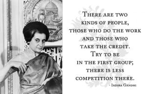Famous Indira Gandhi Quotes and Sayings