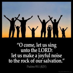 Make a joyful noise!!