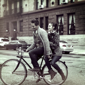 amor, bicycle, bike, bike ride, boots, boy, city, couple, cute ...