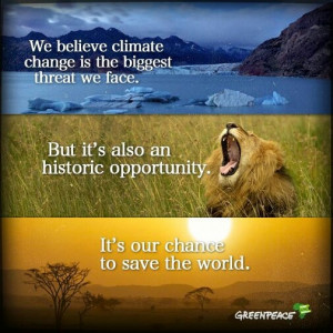 World Environment Day; Greenpeace.