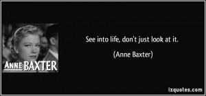 More Anne Baxter Quotes