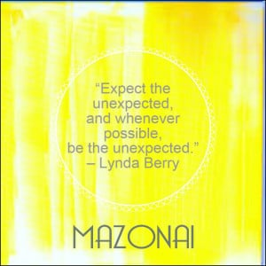 mazonai quote of the week 25th september 2014
