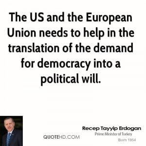 The US and the European Union needs to help in the translation of the ...