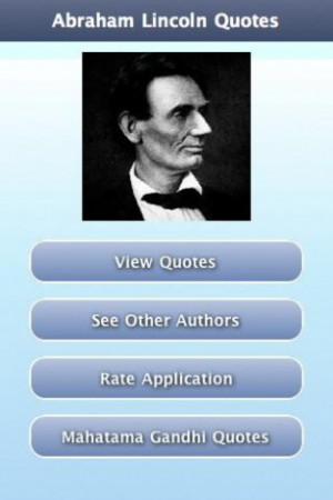 View bigger - Abraham Lincoln Quotes for Android screenshot
