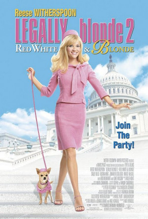 Legally Blonde 2: Red, White & Blonde Poster #1 of 1