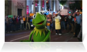 Kermit the Frog in The Muppets (2011)