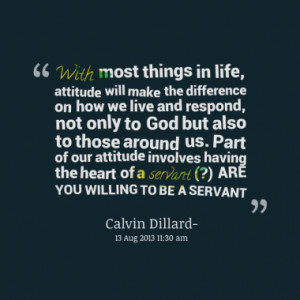 Quotes About: SERVANT