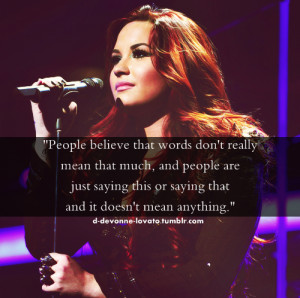 demi lovato quotes | Tumblr