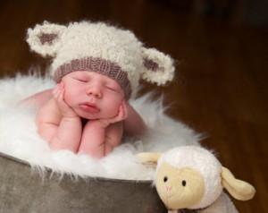 Baby Boy Lamb Costume Baby lamb hat newborn photo