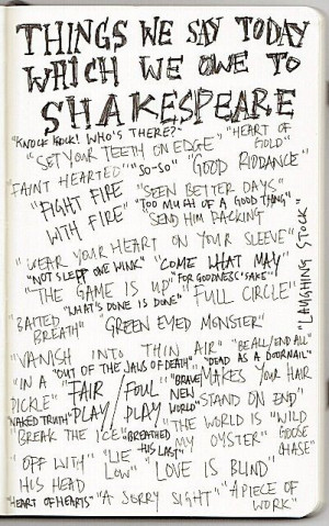 Common Sayings We Got From Shakespeare