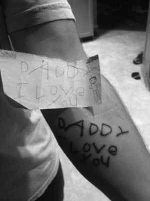 Daddy_Love_Tattoo_funny_picture