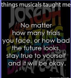 me broadway musical quotes joseph music wisdom theatr broadway ...