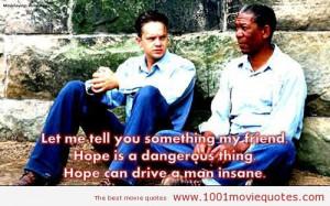 Shawshank Redemption, Morgan Freeman, Favorite Book, Movie Quotes ...