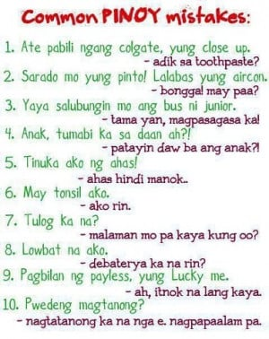 Tagalog Funny Love Quotes Text Messages #6