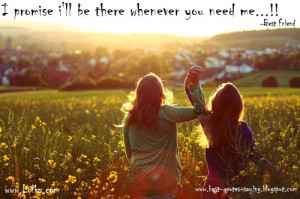 promise i'll be there whenever you need me...!!