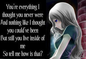 Free Download Sad Anime Quotes Freecodesource Pictures HD Wallpaper