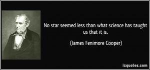 James Fenimore Cooper Quote