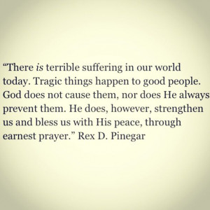 Quote for dealing with tragedy